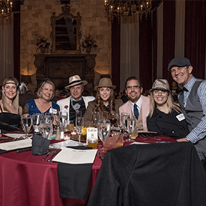Cincinnati Murder Mystery party guests at the table